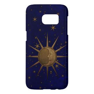 Celestial Sun Moon Starry Night Samsung Galaxy S7 Case