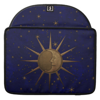Celestial Sun Moon Starry Night Sleeve For MacBook Pro