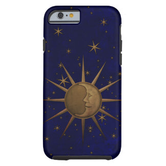 Celestial Sun Moon Starry Night Tough iPhone 6 Case