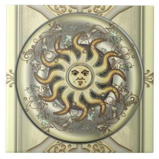 Celestial Sun Tiles