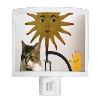 Celestial Sunshine Cat Night Lights