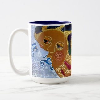 Celestial Two-Tone Coffee Mug
