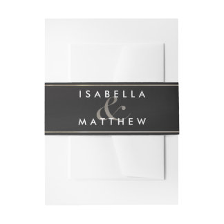 Celestial Union - Wedding Invitation Belly Bands Invitation Belly Band