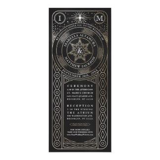Celestial Union Wedding Invitiations (Tall) Card