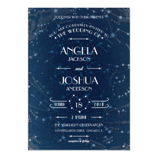 Celestial Wedding Invitation