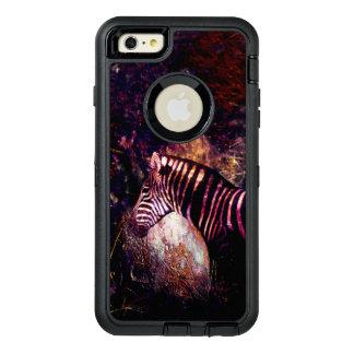 Celestial Zebra of the Equidae Eclipse OtterBox Defender iPhone Case