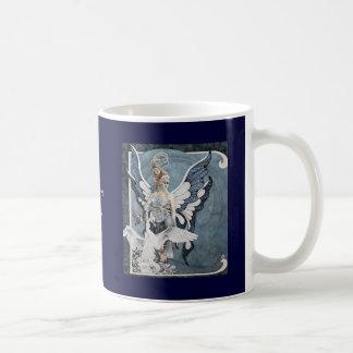 Celestite Faery Classic White Coffee Mug
