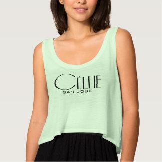 Célfie Celebrity Style ADD YOUR TEXT Tank Top