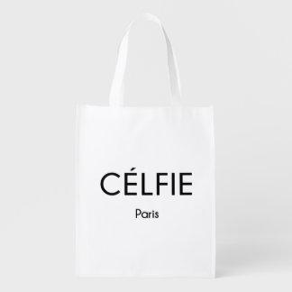CELFIE Paris Grocery Bags
