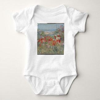 Celia Thaxter's Garden, Isles of Shoals, Maine Baby Bodysuit