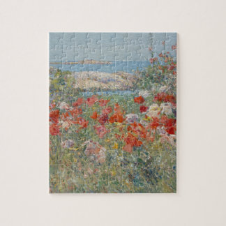 Celia Thaxter's Garden, Isles of Shoals, Maine Jigsaw Puzzle