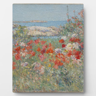 Celia Thaxter's Garden, Isles of Shoals, Maine Plaque