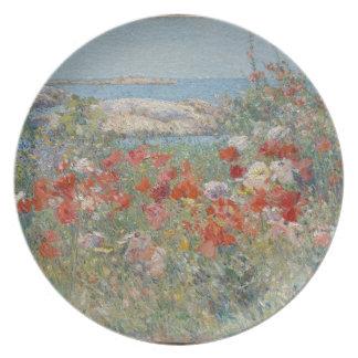 Celia Thaxter's Garden, Isles of Shoals, Maine Plate