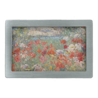 Celia Thaxter's Garden, Isles of Shoals, Maine Rectangular Belt Buckle