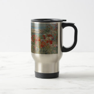 Celia Thaxter's Garden, Isles of Shoals, Maine Travel Mug