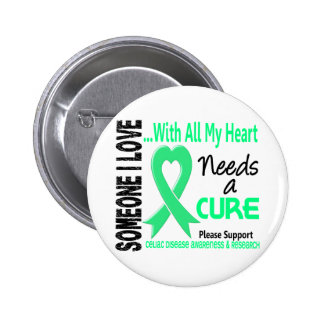 Celiac Disease Needs A Cure 3 2 Inch Round Button