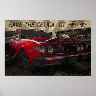 Celica GT poster
