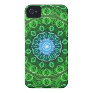 Cell Growth Mandala iPhone 4 Covers