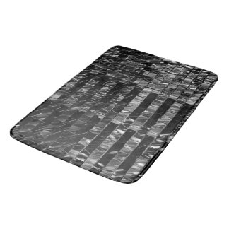 Cell Noir Bath Mat by Artist C.L. Brown