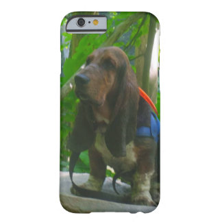 cell phone case Basset hound
