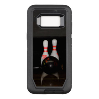 Cell Phone Case- Bowling OtterBox Defender Samsung Galaxy S8 Case