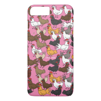 Cell Phone Case/Cover - Pink iPhone 8 Plus/7 Plus Case