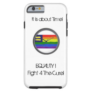 Cell Phone Case Equality=To fight the Cure-V.Sisk Tough iPhone 6 Case