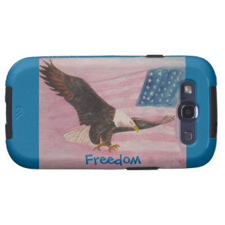 Cell Phone Case- Freedom Galaxy SIII Cover