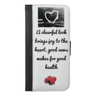 Cell Phone Case Good News Proverb