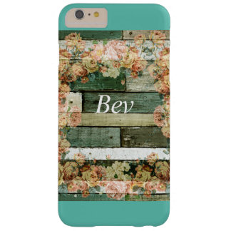 Cell Phone Case IPhone 6/6S Plus Wood Flowers