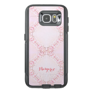 Cell Phone_Cases_TEMPLATE_Name_Abstract Lace_TLP2 OtterBox Samsung Galaxy S6 Case
