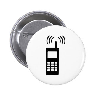 cell phone celly mobil handy 2 inch round button
