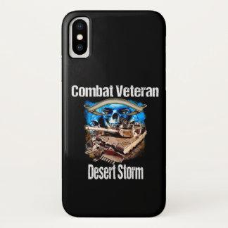 Cell Phone Combat Veteran  Desert Storm. Case-Mate iPhone Case