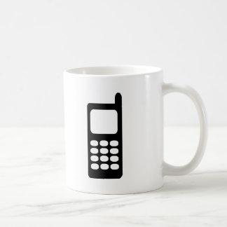 Cell phone coffee mug