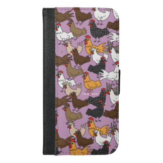 Cell Phone Wallet Case - Purple