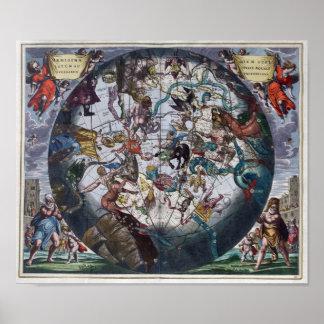 Cellarius Andreas 1708 Harmonia Macrocosmica Poster