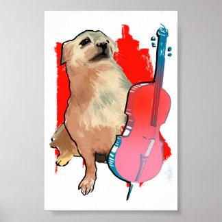Cellist Kato Poster