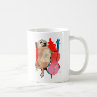 Cellist Kato Two Tone Mug
