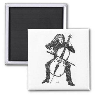 Cellist magnet