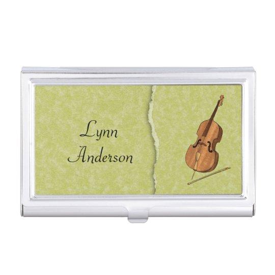 Cellist, String Quartet, or Orchestra Case For Business Cards