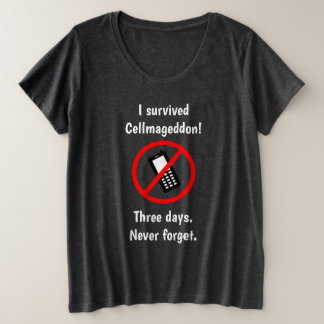 Cellmageddon Plus Size Shirt