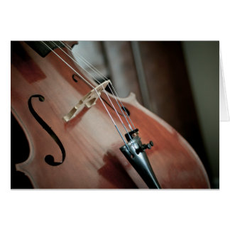 Cello Blank Card