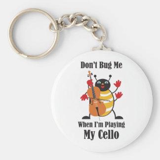 Cello Bug Keychain
