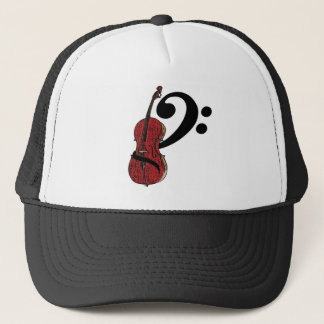 Cello Clef Hat