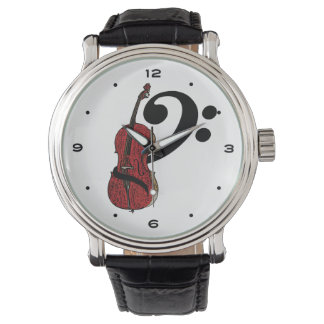 Cello Clef Watch