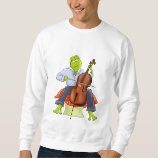 Cello Frog Unisex Adult Sweatshirt