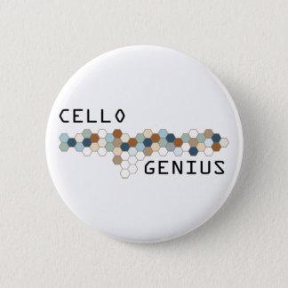 Cello Genius 2 Inch Round Button