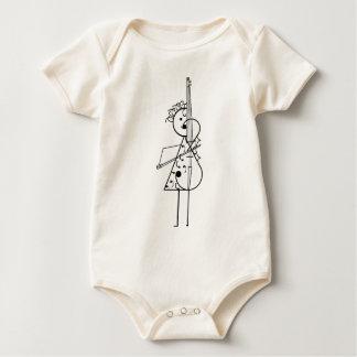 Cello Girl Baby Bodysuit