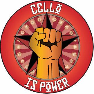 Cello Is Power Photo Cutout