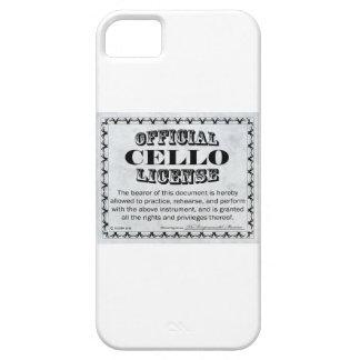 Cello License iPhone 5 Cover